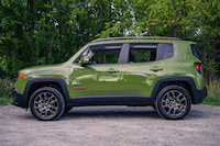 Jeep Renegade 75th Anniversary Edition side view