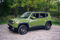 Jeep Renegade 75th Anniversary Edition roof off