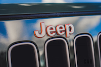 Jeep Wrangler Sahara 75th Annivesary Edition badge