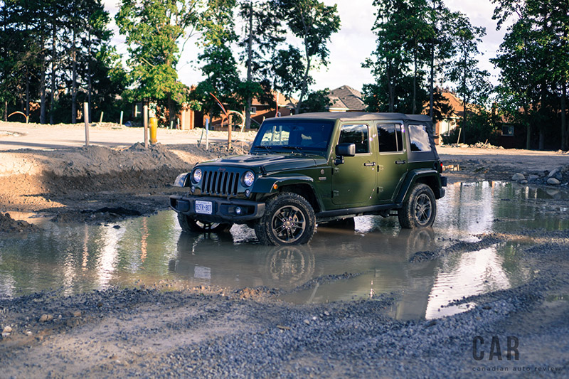 Jeep Wrangler Sahara 75th Annivesary Edition sarge green
