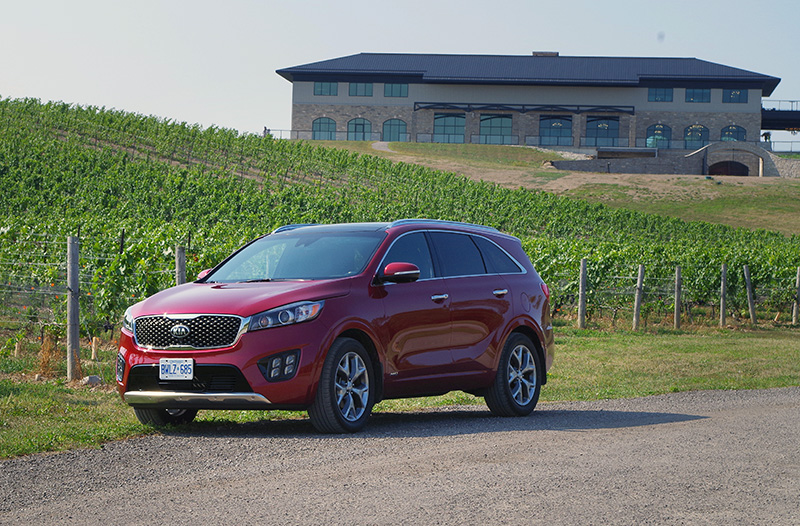 2016 kia sorento sx+ review