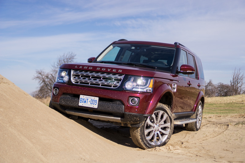 canadian review of the land rover lr4