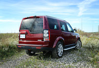 land rover montalcino red