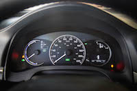 2016 Lexus CT 200h F Sport Special Edition analog gauges