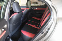 2016 Lexus CT 200h F Sport Special Edition rear seats
