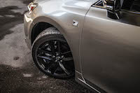 2016 Lexus CT 200h F Sport Special Edition black wheels