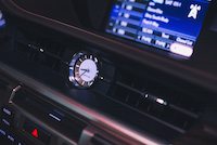 lexus es analog clock