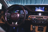 lexus wood steering wheel