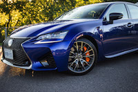 2016 Lexus GS F fenders lights wheels