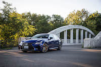 2016 Lexus GS F ultrasonic mica blue canada