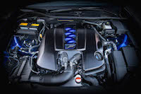 2016 Lexus GS F 5.0-litre naturally aspirated v8 engine rc f is f