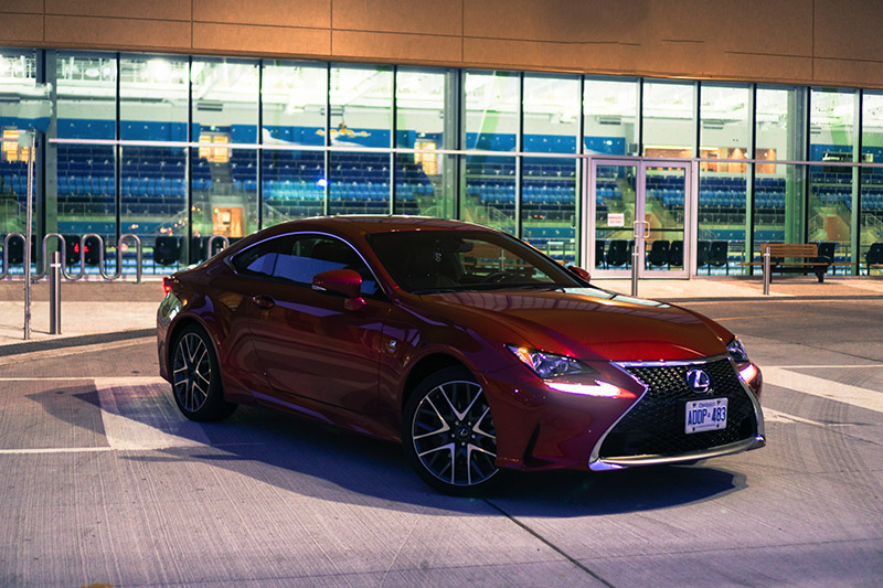 2016 Lexus RC 300 AWD F Sport Canada Review