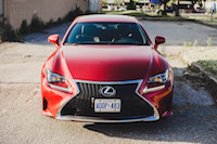 2016 Lexus RC 300 AWD F Sport infrared paint