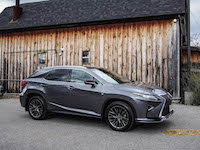 2016 Lexus RX 350 F Sport gray red colour combo