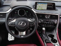 2016 Lexus RX 350 F Sport new steering wheel