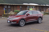 2016 lincoln mkx bronze fire