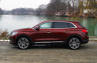 2016 lincoln mkx 22 inch wheels
