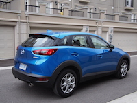 mazda cx-3 gs blue