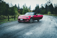 nd mazda mx-5 gt red