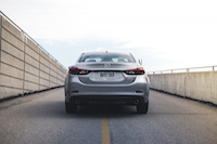 2016 Mazda6 GT rear view