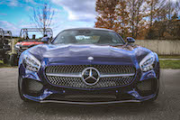 2016 Mercedes-AMG GT S blue