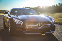 2016 Mercedes-AMG GT S sunset