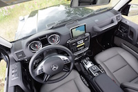 2016 Mercedes-Benz G550 interior dashboard