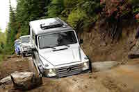 2016 Mercedes-Benz G550 off road