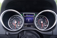 2016 Mercedes-Benz G550 gauges