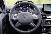 2016 Mercedes-Benz G550 steering wheel