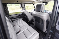 2016 Mercedes-Benz G550 rear seats