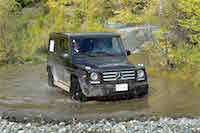 2016 Mercedes-Benz G550 fording water