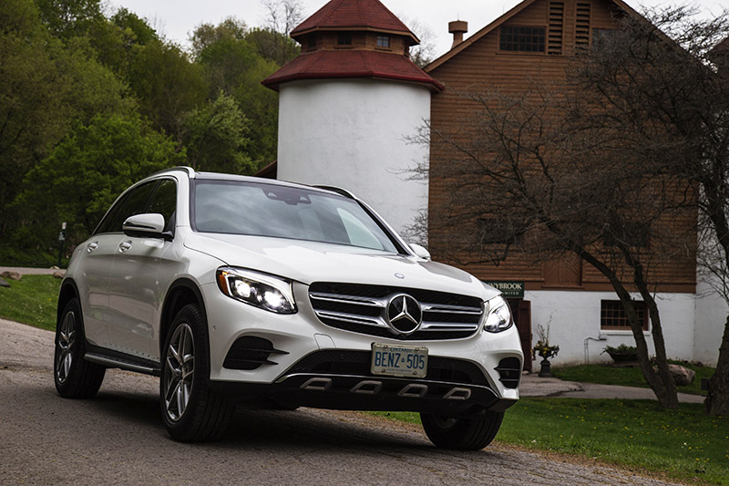 2016 Mercedes-Benz GLC 300 4MATIC Canadian review chinese