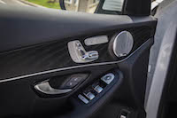 2016 Mercedes-Benz GLC 300 4MATIC door panel controls