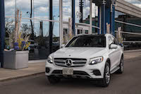2016 Mercedes-Benz GLC 300 4MATIC white paint