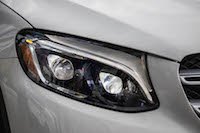 2016 Mercedes-Benz GLC 300 4MATIC headlights
