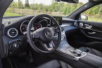 2016 Mercedes-Benz GLC 300 4MATIC black interior
