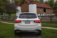 2016 Mercedes-Benz GLC 300 4MATIC rear view