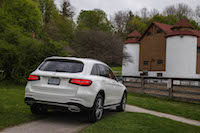 2016 Mercedes-Benz GLC 300 4MATIC off-road hill