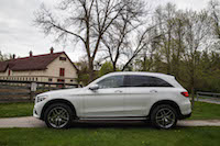 2016 Mercedes-Benz GLC 300 4MATIC side view