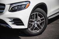2016 Mercedes-Benz GLC 300 4MATIC 19-inch amg wheels