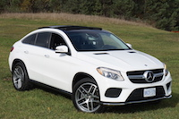 2016 Mercedes-Benz GLE 350d Coupe front white