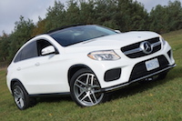 2016 Mercedes-Benz GLE 350d Coupe uphill
