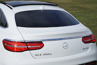 2016 Mercedes-Benz GLE 350d Coupe rear window