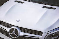 2016 Mercedes-Benz GLE Coupe hood scoop