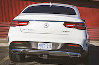 2016 Mercedes-Benz GLE Coupe 350d 4matic white