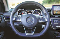 2016 Mercedes-Benz GLE Coupe steering wheel