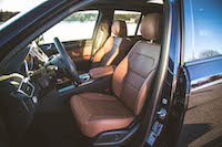 GLE 450 AMG saddle brown seats
