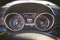 GLE 450 AMG gauges
