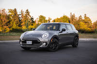 2016 MINI Cooper Clubman melting silver paint bmw